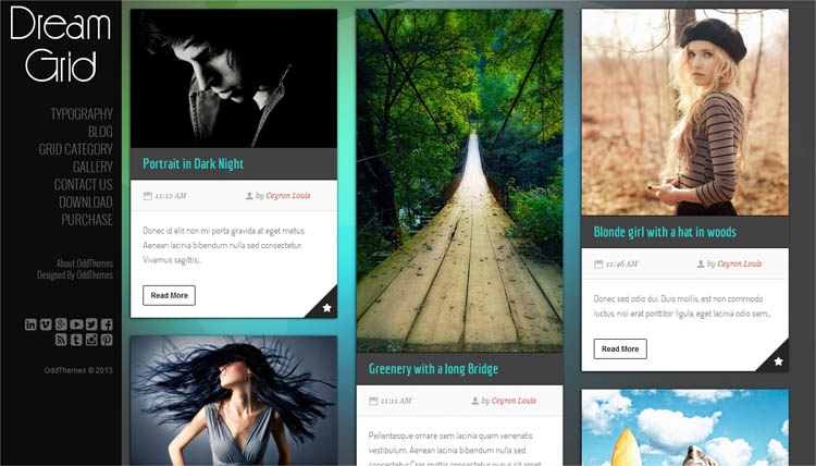 DreamGrid Blogger Template + Installation