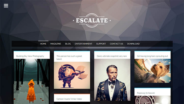Escalate Blogger Template + Installation