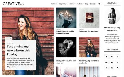 Creative Blogger Template + Installation