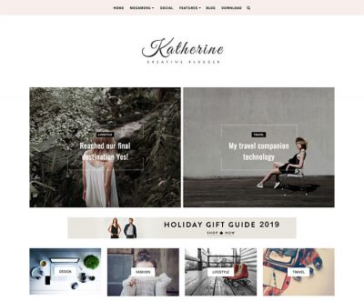 Katherine Blogger Theme 2019 + Installation
