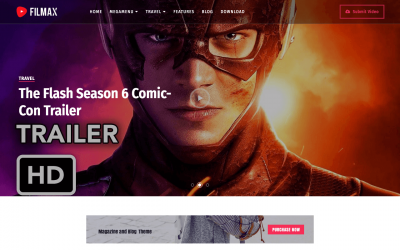 Filmax Movie Blogger Template + Installation