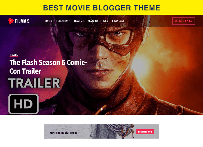 Movie blogger theme