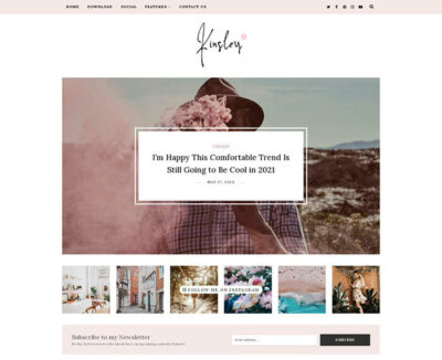 Kinsley Minimal Blogger Theme + Installation