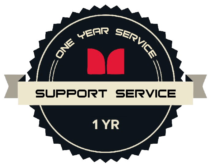 One Year Support Service License