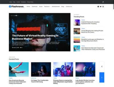 Flashnews Magazine Blogger Theme